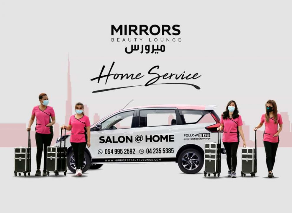 Home Salon Services at Dubai